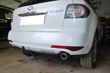 Фаркоп оцинкованный Mazda CX-7 2006-2013 быстросъемное крепление шара