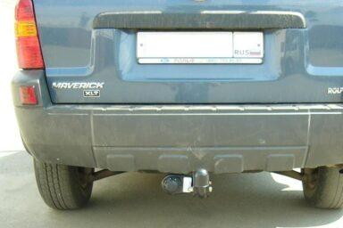 Фаркоп оцинкованный Mazda Tribute 2001-2003, Ford Maverick 2001-2003, Ford Escape 2001-2003 условно-съемное крепление шара