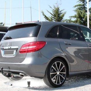 Фаркоп оцинкованный Mercedes A-Class w169 2004-2012, Mercedes B-Class w245 2005-2011 быстросъемное крепление шара