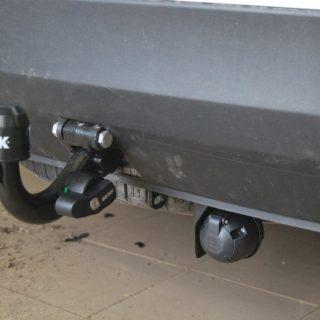 Фаркоп оцинкованный Nissan Cabstar платформа 2006-, Renault Maxity платформа 2006- условно-съемное крепление шара