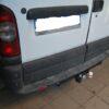 Фаркоп оцинкованный Nissan Interstar 1998-2010, Opel Movano A 1999-2010, Renault Master 1998-2010 быстросъемное крепление шара