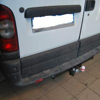Фаркоп оцинкованный Nissan Interstar 1998-2010, Opel Movano A 1999-2010, Renault Master 1998-2010 условно-съемное крепление шара