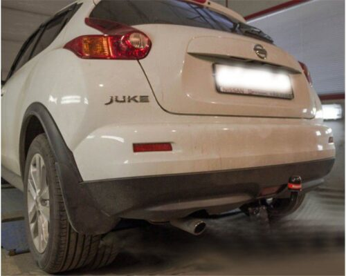 Фаркоп оцинкованный Nissan Juke 2WD 2011-2019 быстросъемное крепление шара - Фото
