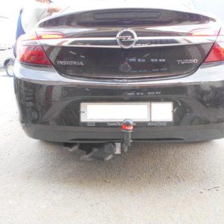 Фаркоп оцинкованный Opel Insignia седан/универсал/хетчбек 2009-2017 быстросъемное крепление шара