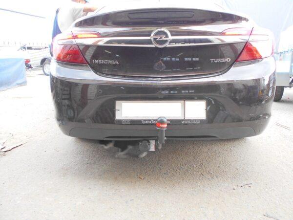 Фаркоп оцинкованный Opel Insignia седан/универсал/хетчбек 2009-2017 быстросъемное крепление шара - Фото