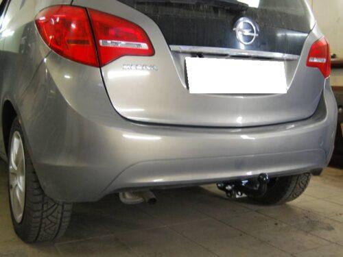 Фаркоп оцинкованный Opel Meriva 2010-2017 быстросъемное крепление шара - Фото