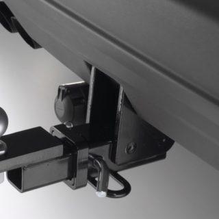 Фаркоп оцинкованный Peugeot 206 хетчбек 3/5 дверей, купе, кабриолет 1998-2003 условно-съемное крепление шара