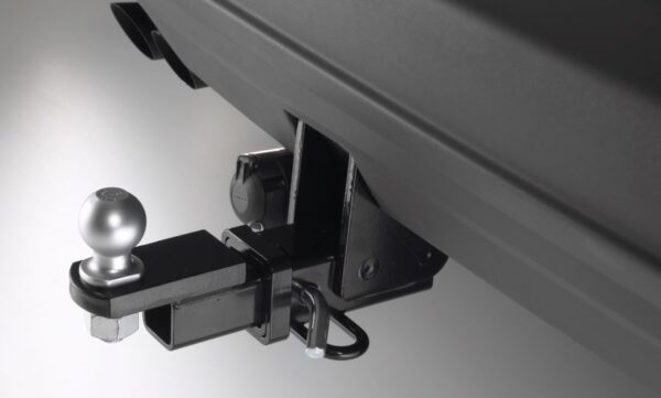 Фаркоп оцинкованный Peugeot 206 хетчбек 3/5 дверей, купе, кабриолет 1998-2003 быстросъемное крепление шара - Фото
