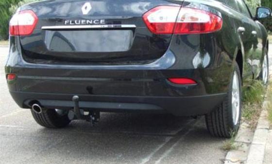 Фаркоп оцинкованный Renault Fluence седан 2010- быстросъемное крепление шара - Фото