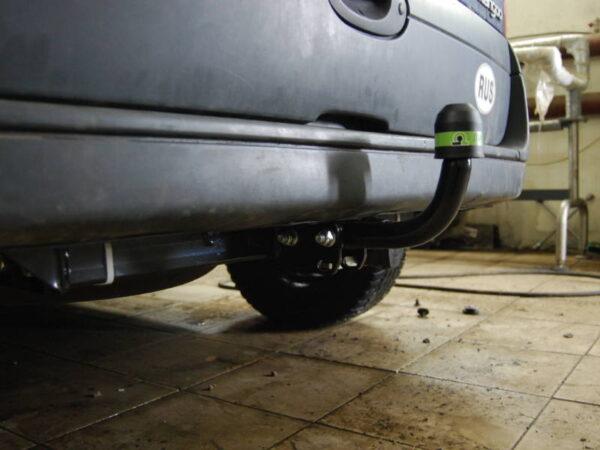 Фаркоп оцинкованный Renault Kangoo 1998-2010, кроме 4x4 быстросъемное крепление шара - Фото