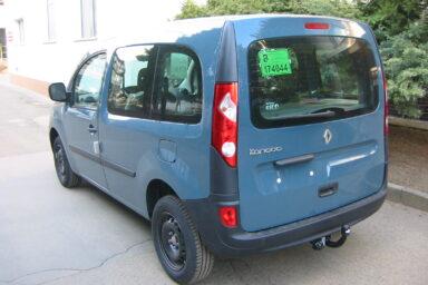 Фаркоп оцинкованный Renault Kangoo 2010-, Mercedes Citan 2012- условно-съемное крепление шара