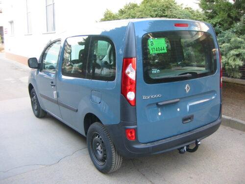 Фаркоп оцинкованный Renault Kangoo 2010-, Mercedes Citan 2012- условно-съемное крепление шара - Фото