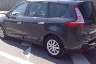 Фаркоп оцинкованный Renault Megane III хетчбек 5 дверей 2008-2016, Renault Scenic III 2010-2016 условно-съемное крепление шара