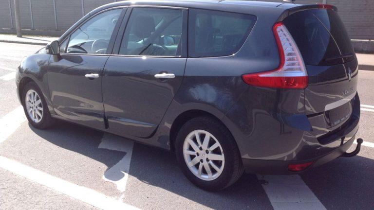 Фаркоп оцинкованный Renault Megane III хетчбек 5 дверей 2008-2016, Renault Scenic III 2010-2016 условно-съемное крепление шара - Фото