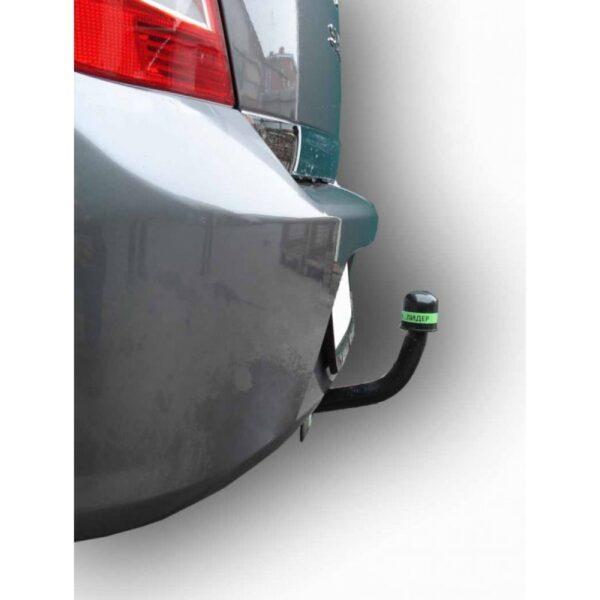 Фаркоп оцинкованный Renault Symbol седан 2000-2008, 2008-2012 быстросъемное крепление шара - Фото