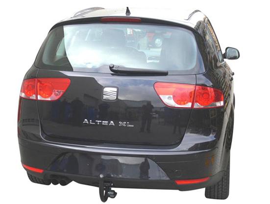 Фаркоп оцинкованный SEAT Altea 2004-2015, SEAT Leon 2005-2013 быстросъемное крепление шара - Фото
