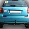 Фаркоп оцинкованный Suzuki SX4 хетчбек 5 дверей 2006-2013 2WD/4WD, FIAT Sedici 2006-2014 быстросъемное крепление шара