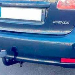 Фаркоп оцинкованный Toyota Avensis седан/лифтбек 1997-2003 условно-съемное крепление шара