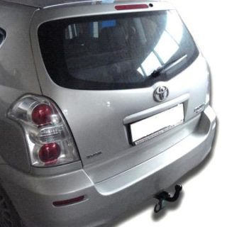 Фаркоп оцинкованный Toyota Corolla Verso 2004-2009 условно-съемное крепление шара