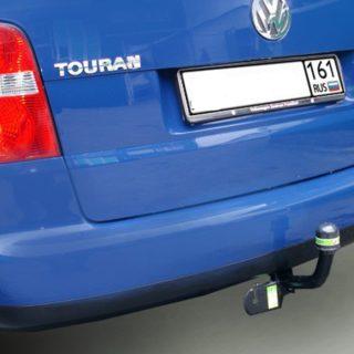 Фаркоп оцинкованный Volkswagen Touran 2002-2015 условно-съемное крепление шара