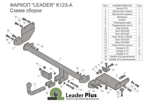 kia rio x line схема