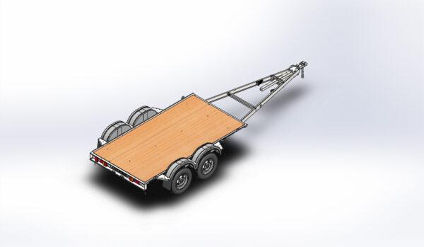 2-х осный автомобильный модульный прицеп ДОН N5521