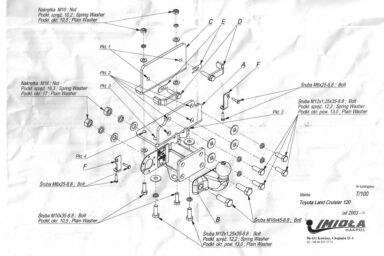 Фаркоп Toyota Land Cruiser Prado 2003-2009